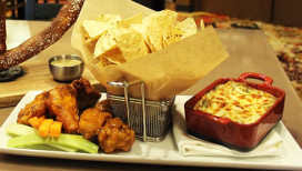 Appetizers at Stadium Bar and Grill at Ameristar Casino