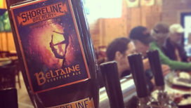 Belataine Scottish Ale at Shoreline Brewery