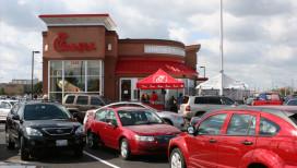 Chick-fil-a Restaurants Merrillville Exterior