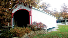 City of Crown Point Things to Do Covered Bridge