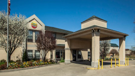 Comfort Inn Hotel Michigan City exterior