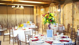 County Line Orchard Meetings Wedding Banquet