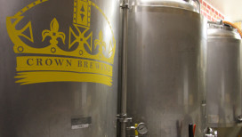 Crown Brewing Beer Tanks Crown Point Things to Do