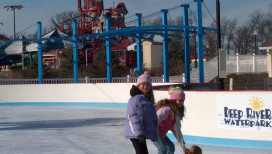 Deep River Waterpark Things to Do Ice Skating Snowflake Skate