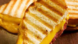 Fair Oaks Farms Things to Do Grilled Cheese