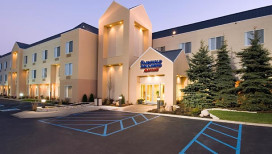 Fairfield Inn Hotel Merrillville Exterior