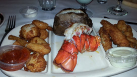 Freddys Steakhouse Hammond Restaurant seafood