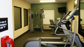 Hampton Inn LaPorte Hotel fitness room