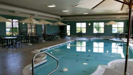 Hampton Inn & Suites Hotel Valparaiso Pool