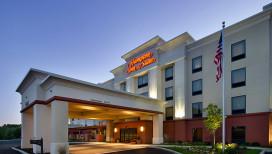 Hampton Inn & Suites Hotel Schererville Exterior