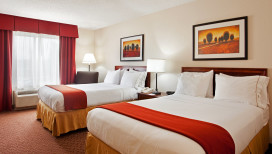 Holiday Inn Express Hotel Merrillville Double