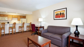 Holiday Inn Express Hotel Merrillville suite
