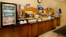 Holiday Inn Express Schererville Hotel breakfast