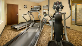 Holiday Inn Express Schererville Hotel fitness room