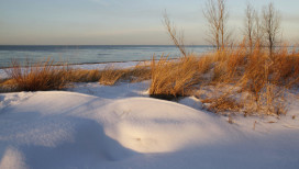Indiana Dunes National Lakeshore Beaches winter