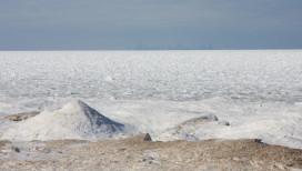 Indiana Dunes Shelf Ice