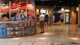 Indiana Welcome Center Visitor Desk