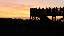 Jasper Pulaski Wildlife Area Bird Watching Sunset