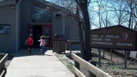 Kids running Douglas Center Indiana Dunes National Lakeshore
