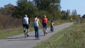 Lake County Parks Outdoors Erie Lackawanna Bike Trail