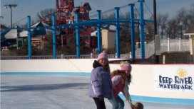 Lake County Parks Outdoors Deep River Waterpark Ice Skating