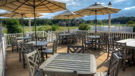 Latitudes Restaurant Portage deck