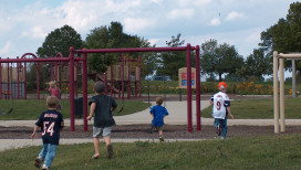 Lemon Lake County Park playground