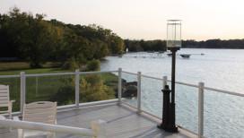 Lighthouse Restaurant Dining Banquet Cedar Lake Balcony