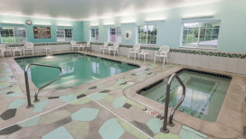 Microtel Inn Suites Hotel Michigan City Pool