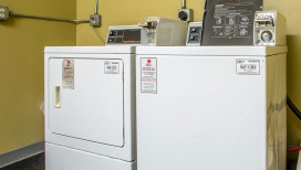 Quality Inn Hotel Merrillville laundry