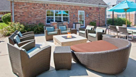Residence Inn Hotel Merrillville Outdoor Patio