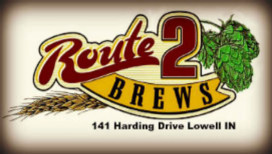Route 2 Brews logo Lowell
