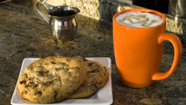 Latte-cookie