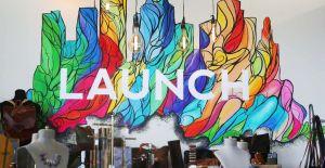 Launch Mural Houston Chronicle