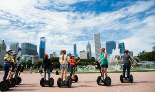 Segway Tour Buckingham Fountain