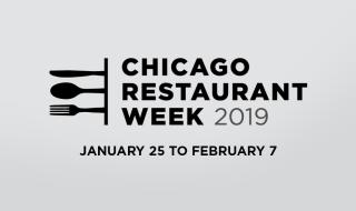 Chicago Restaurant Week 2019