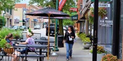 Jeffersonville downtown scene