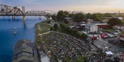 Jeffersonville RiverStage aerial