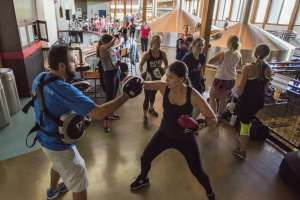Boxing at New Belgium Health and Fitness