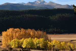 Rocky Mountain National Park in the Fall