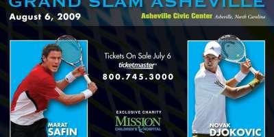 Tennis Champs Battle it out at Grand Slam Asheville