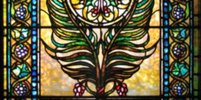 July Dubbed Stained Glass Month