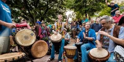 Asheville Drum Circle