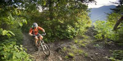 Mountain Biking at Mt. Mitchell