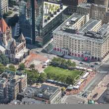 Copley Place Aerial