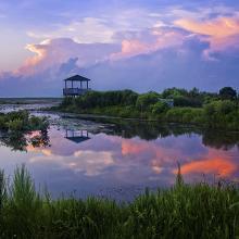 Lacassine National Wildlife Refuge Sunrise