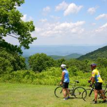 Blue Ridge Parkway Biking