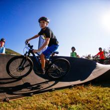Bike Pump Track - Go Outside Festival
