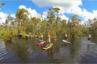 GO PADDLEBOARD: Louisiana's Northshore
