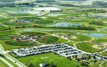 Grand Park Aerial